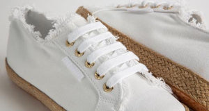 Superga 2750 Sneaker Fringed Cotton Rope - White