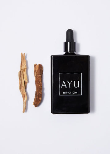 Ayu Body Oil - Amber, Blue Chamomile & Sandalwood