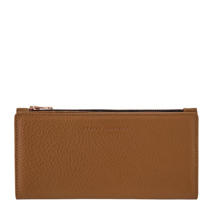 In the Beginning Wallet - Tan