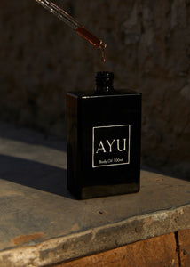 Ayu Body Oil - Rose Otto, Fig & Black Pepper