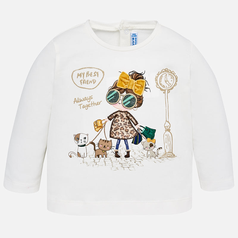 Baby Girl Long Sleeved T-Shirt