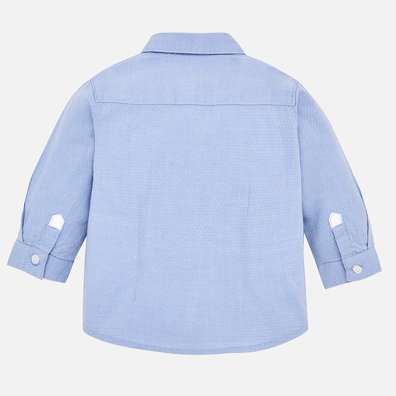 Baby Boy Long Sleeved Shirt with Bow-tie