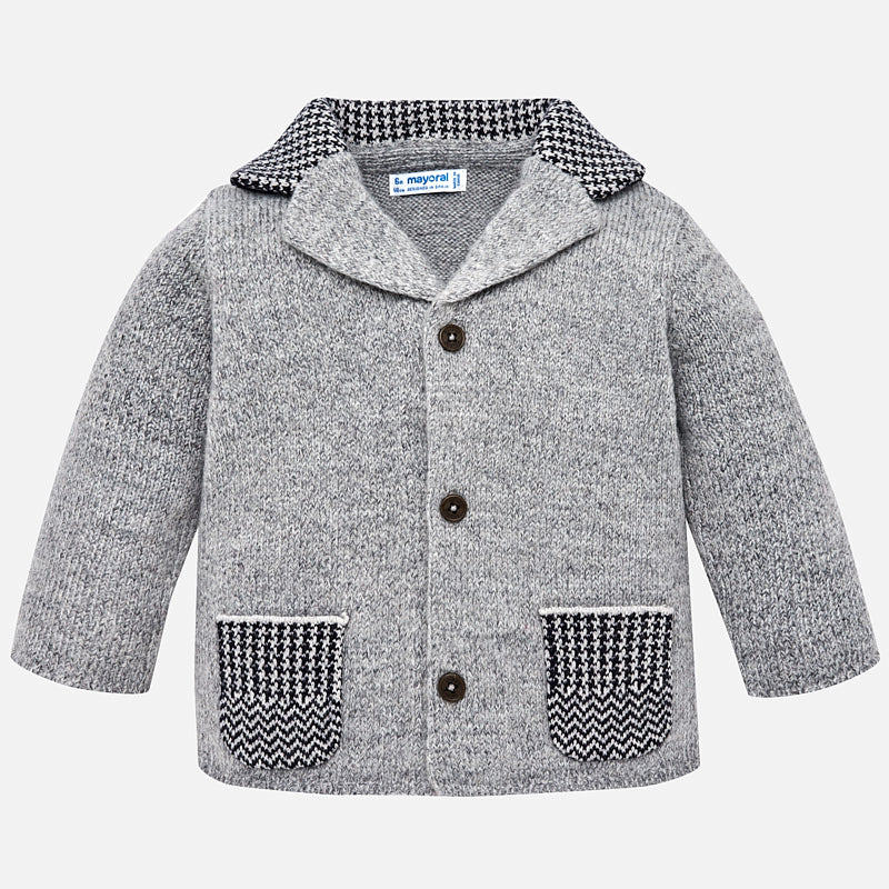 Baby Boy Knit Jacket