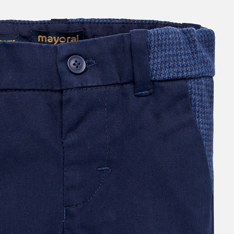Baby Boy Mix Twill Trousers
