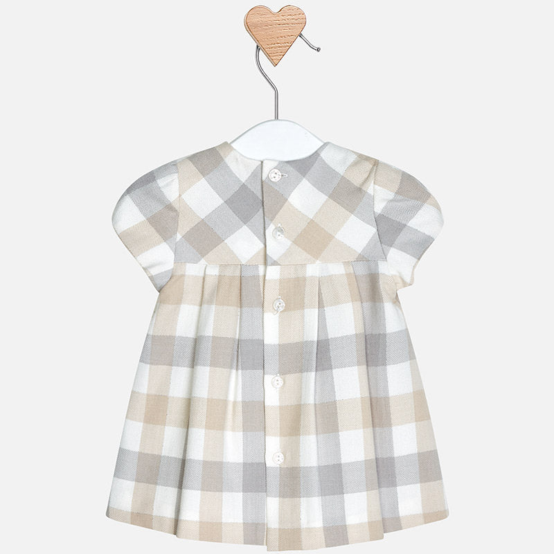 Baby Girl Check Dress