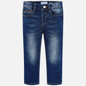 Boy Soft Denim Trousers - Slim Fit
