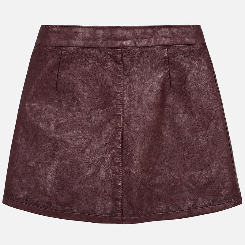 Girl Leatherette Skirt