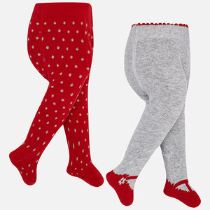 Baby Girl Set of Two Tights