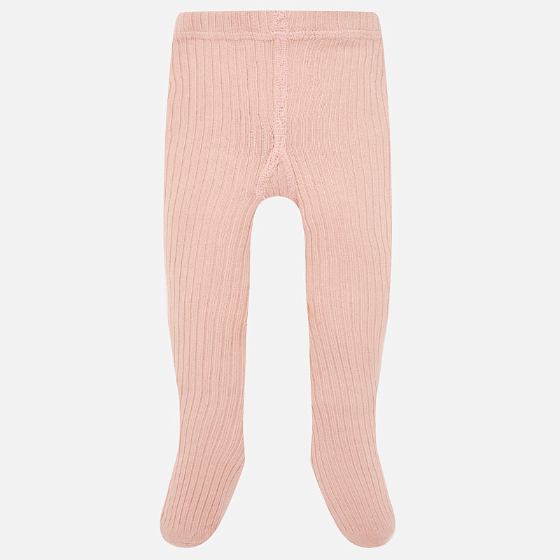 Baby Girl Ribbed Tights