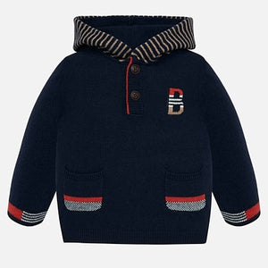 Mayoral Baby Boy Striped Hooded Sweatshirt