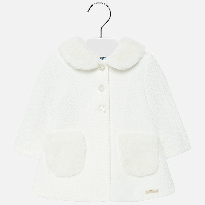 Mayoral Baby Girl Formal Knit Coat