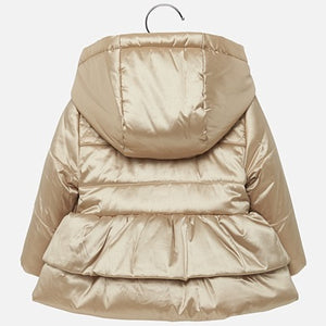 Mayoral Baby Girl Hooded Coat