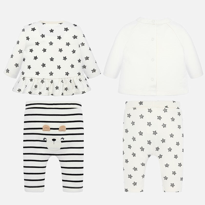 Mayoral Newborn Girl Animal Set