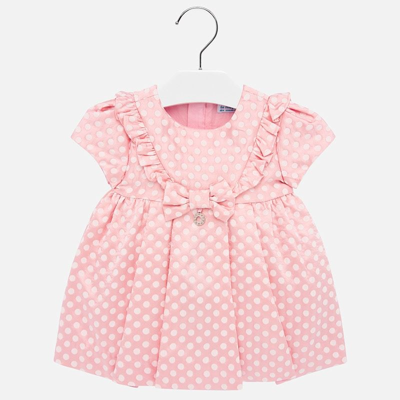 Mayoral Baby Girl Formal Polka Dot Dress