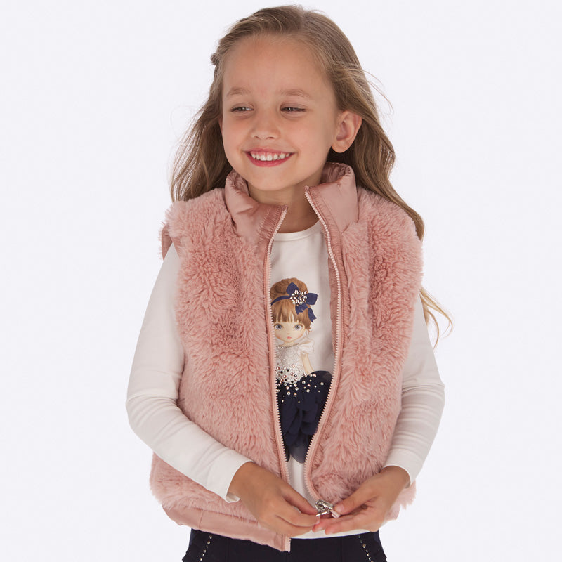 Mayoral Girl Reversible Vest