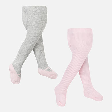 Mayoral Newborn Girl Combined Tights Set