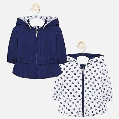 Mayoral Baby Girl Reversible Windbreaker Jacket