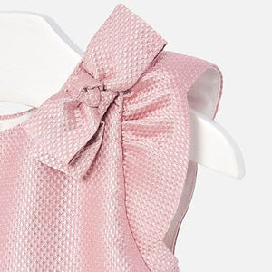 Mayoral Baby Jacquard Dress with Bow