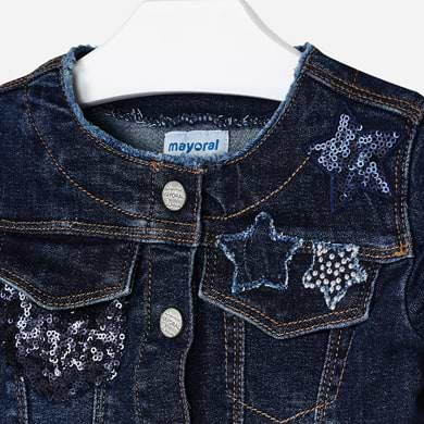Mayoral Girl Denim Jacket