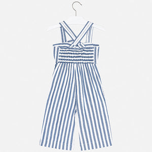 Mayoral Girl Jumpsuit with Bow