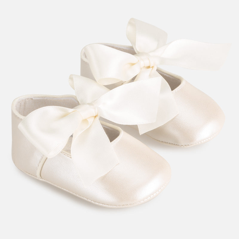 Mayoral Newborn Formal Mary Jane Shoes