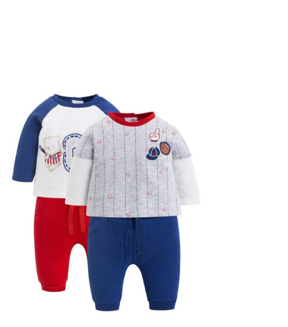 Baby Boy Four-Piece Jersey Set