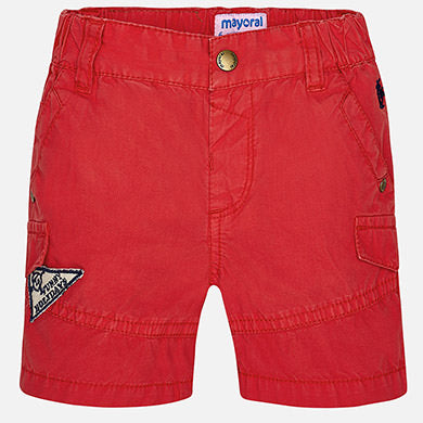 Mayoral Baby Boy Shorts Cherry Colour