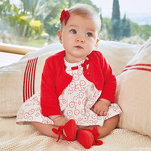 Mayoral Baby Girl Cardigan Poppy Colour