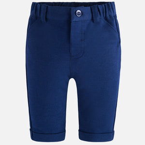 Mayoral Baby Boy Ponte Knit Long Pants Navy Colour