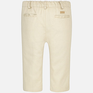Mayoral Baby Boy Formal Pants Beige Colour