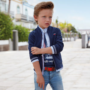 Mayoral Boy Jacket Blue Colour