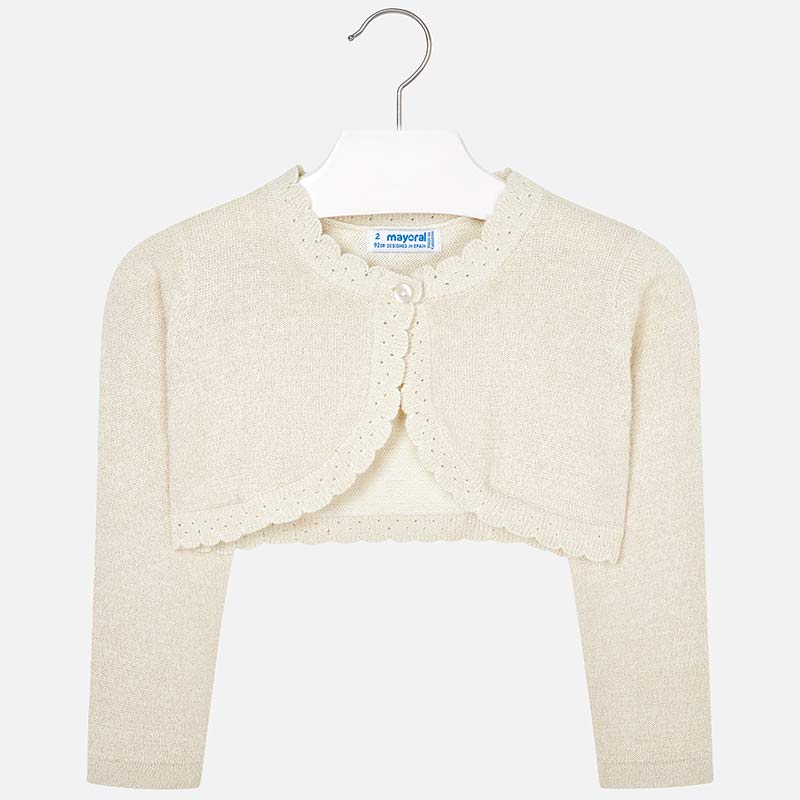Mayoral Girl Basic Knit Cardigan
