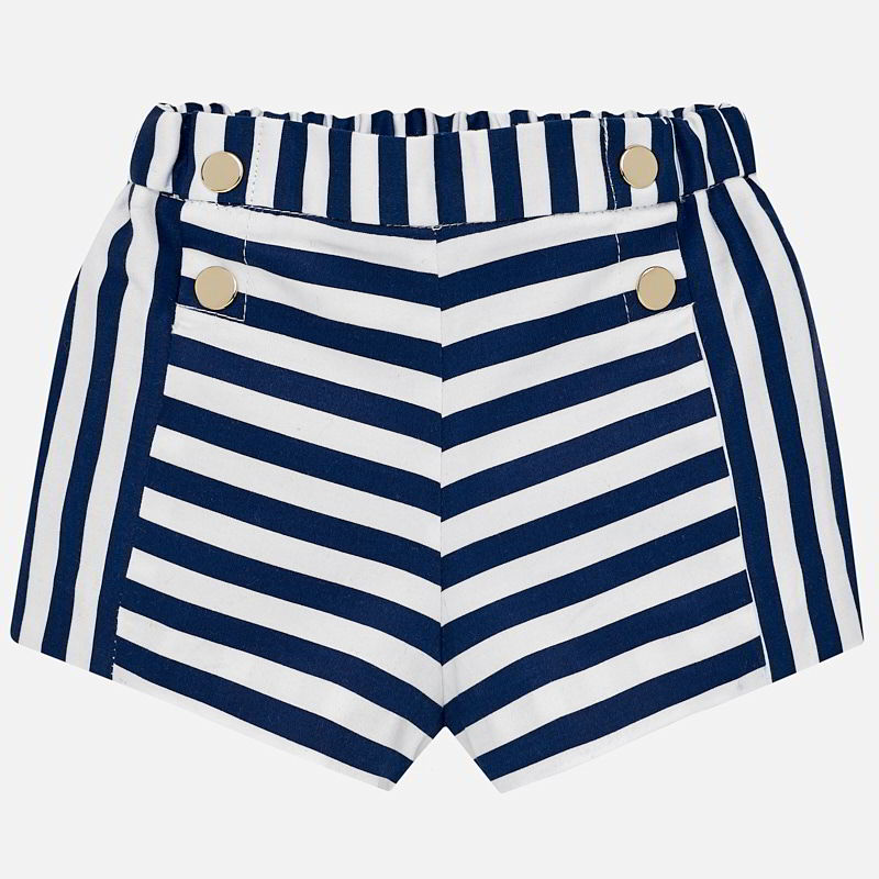 Mayoral Baby Girl Striped Shorts