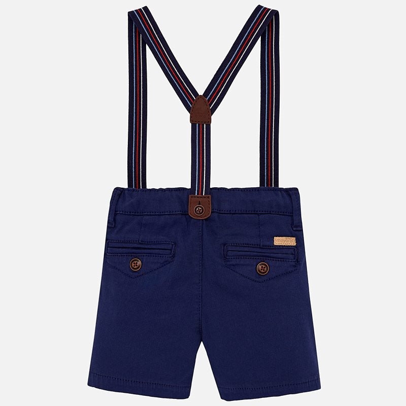 Mayoral Baby Boy Bermuda Shorts with Suspenders