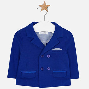 Mayoral Baby Boy Crossed Blazer