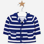 Mayoral Baby Boy Knitted Jacket with Lapel Collar