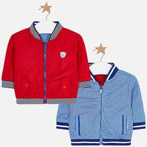 Mayoral Baby Boy Reversible Windbreaker Jacket
