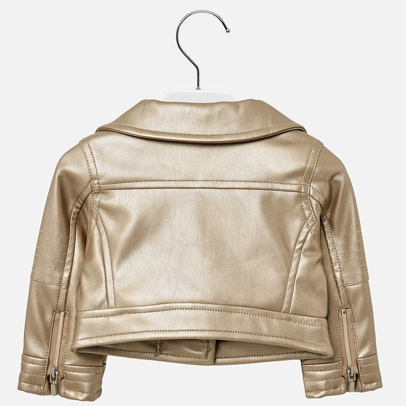 Mayoral Baby Girl Leatherette Jacket