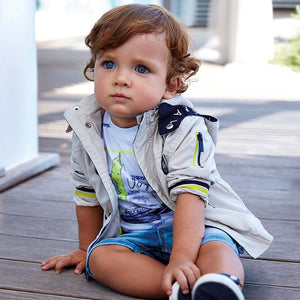 Mayoral Baby Boy Nautical Windbreaker Jacket