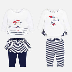 Mayoral Baby Girl Shirts and Trousers Set