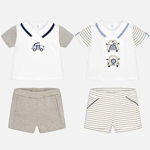 Mayoral Baby Boy 4-Piece Shorts Set