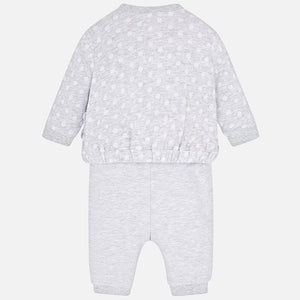 Mayoral Baby Girl Bear Design 3-Piece Tracksuit