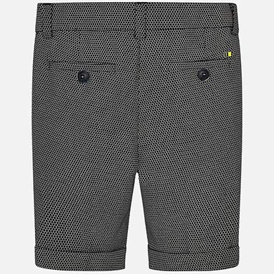 Mayoral Formal Linen Bermuda Shorts