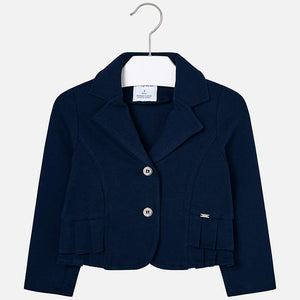 Mayoral Girl Pleated Blazer