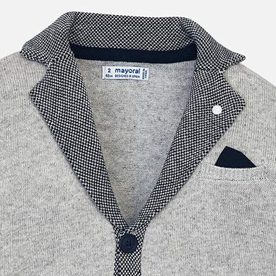 Mayoral Boy Knitted Formal Cardigan