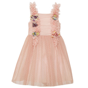 Patachou Tulle Dress and Roses Trim