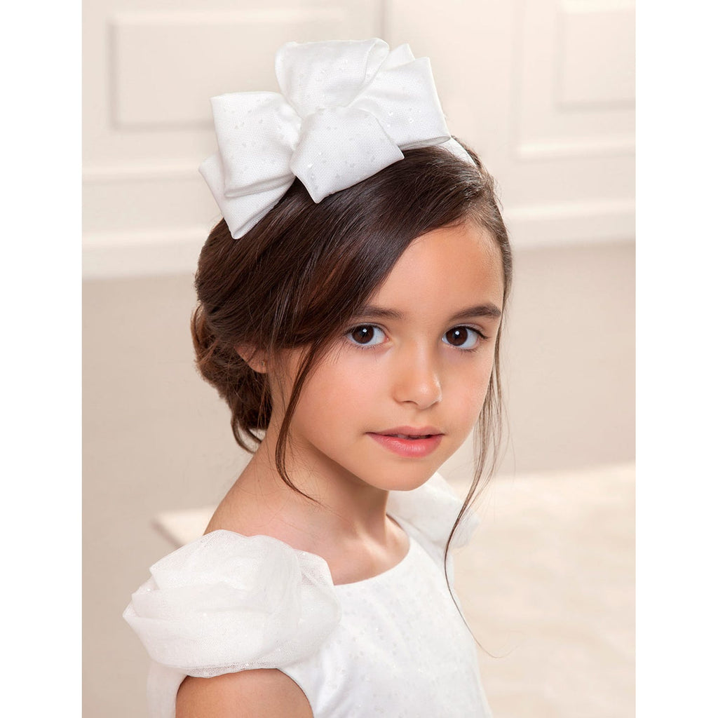 Abel & Lula Headband with Double Loop Bow Trim