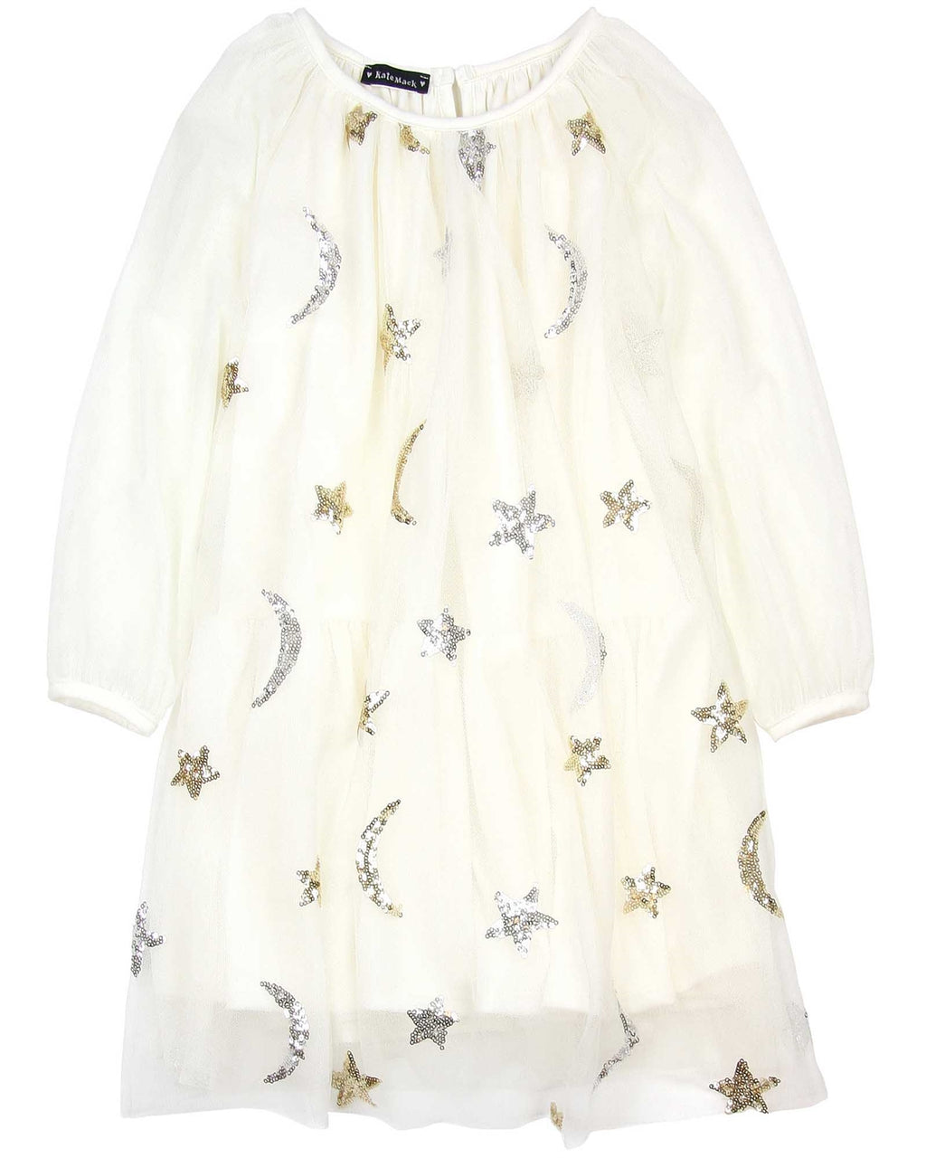 Biscotti Kate Mack Moon and Stars Ivory Dress