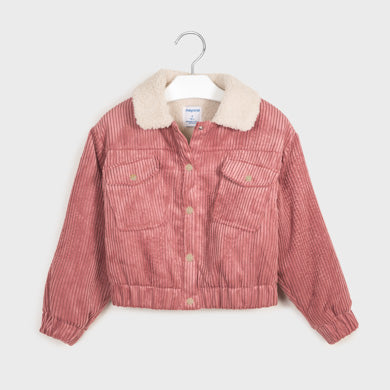 Junior Girl Corduroy and Wool Jacket