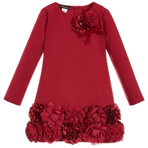 Biscotti Kate Mack Holiday Magic Red Roses Dress